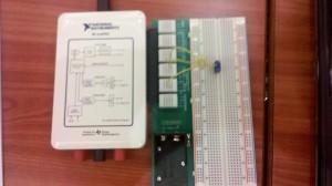 Protoboard & myDAQ NI Days 2012